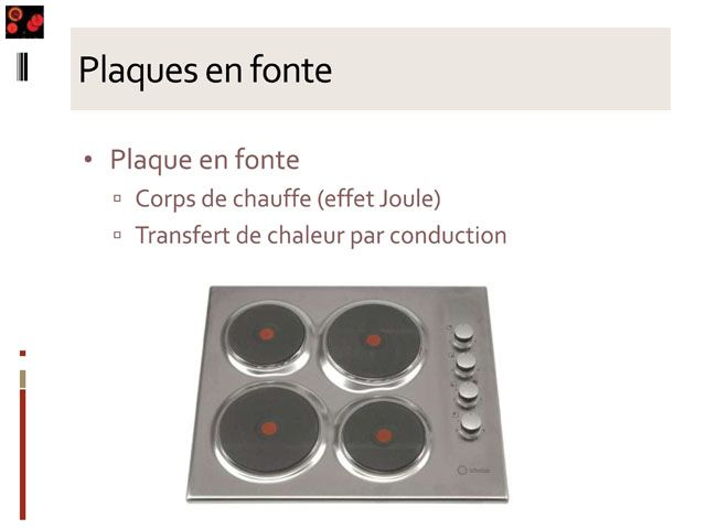 La physique des objets quotidiens a la cuisine for Nettoyer plaque en fonte